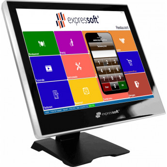 "Touch Screen Monitor 15"" with card reader"