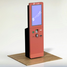 Self Ordering Kiosk 24/7 - one side